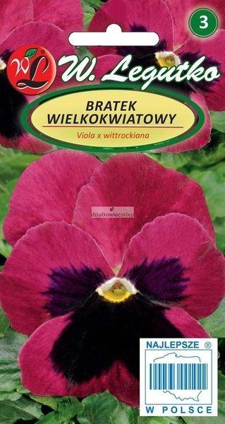 Bratek wielkokwiatowy - Claret (0,5 g)