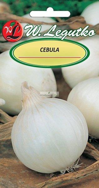 Cebula Agostana, biała, śr. wczesna (5 g)