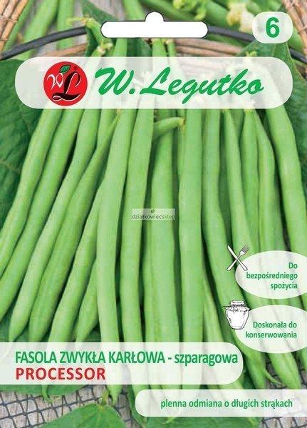 Fasola szparagowa karłowa Processor - śr. wczesna (40 g)