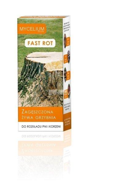 Fast Rot Żywa Grzybnia do rozkładu pni i korzeni 250 ml