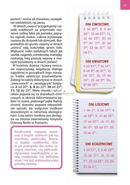 Kalendarz biodynamiczny 2020 r.