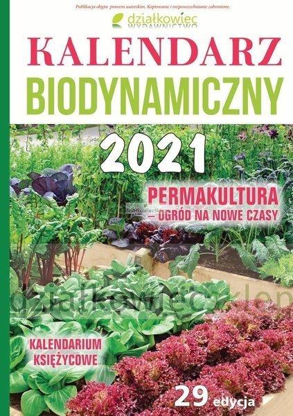 Kalendarz biodynamiczny 2021 r. + Permakultura - ogród na nowe czasy ebook