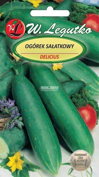 Ogórek gruntowy sałatkowy Delicius (5 g)
