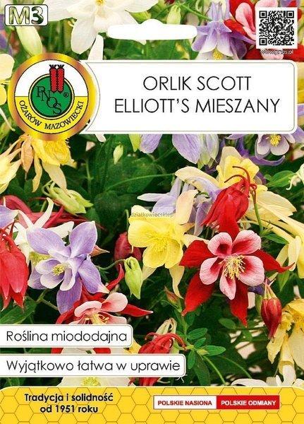 Orlik Scott Elliott's mieszany (1,5 g) - Roślina Miododajna