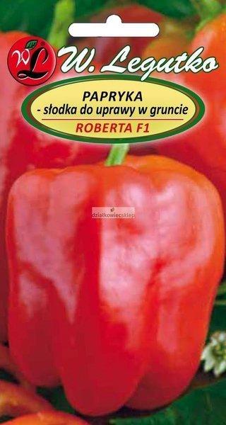 Papryka słodka do uprawy w gruncie Roberta F1 (0,5 g)