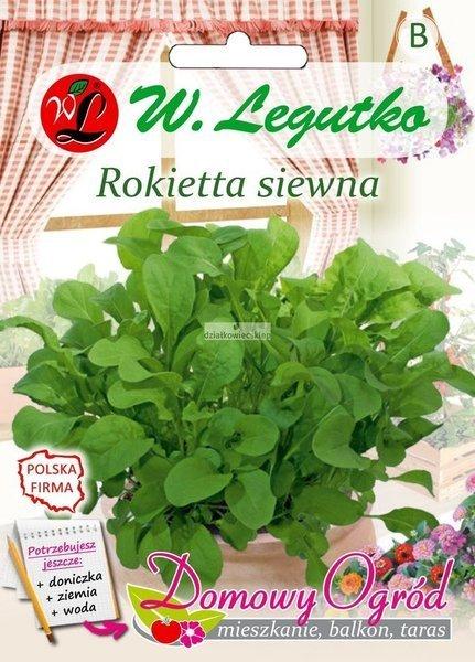 Rokietta siewna, Rukola roczna (0,5 g) - Domowy Ogród