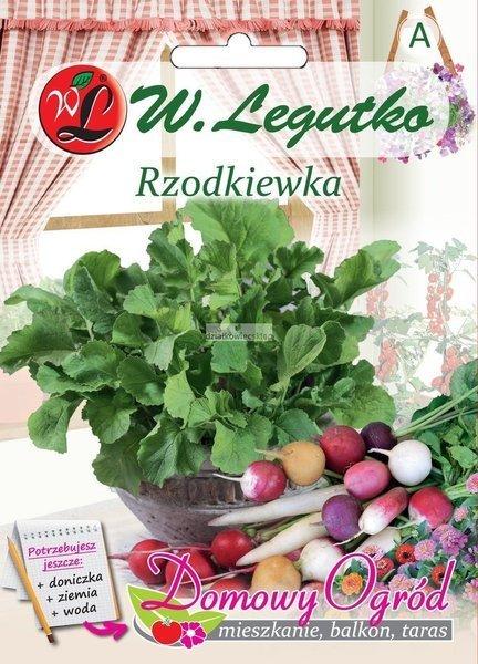 Rzodkiewka - mieszanka wszystkich typów (10 g) - Domowy Ogród