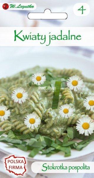 Stokrotka pospolita, łąkowa biała - Kwiaty jadalne (0,2 g)