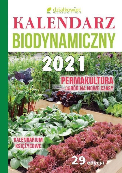 Kalendarz biodynamiczny 2021 r.